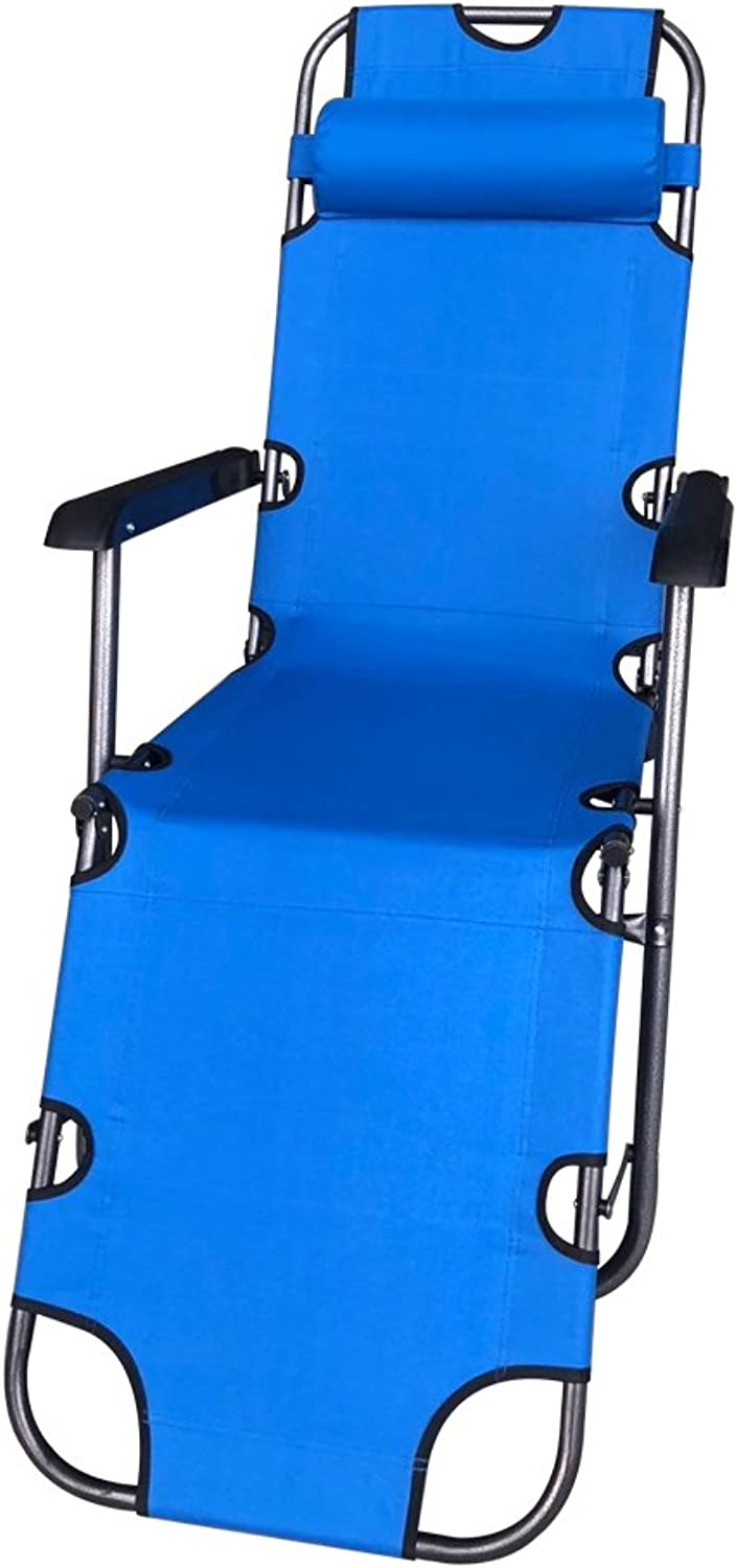 ALEKO FCBC3BL Foldable Zero Gravity Camping and Lounge Chair blueee