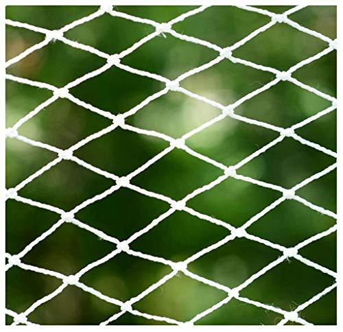 Balkon anti-val net Balkon trap bescherming net wit touw net constructie veiligheid net outdoor tuin bescherming net hangmat schommel klimmen bescherming net effectieve bescherming kinderen dieren zijn