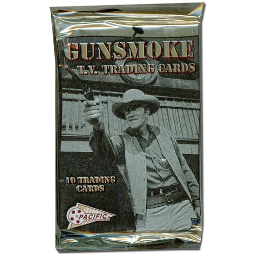1993 Pacific Gunsmoke TV Show Trading Cards Unopened Pack (10 cards/pack)