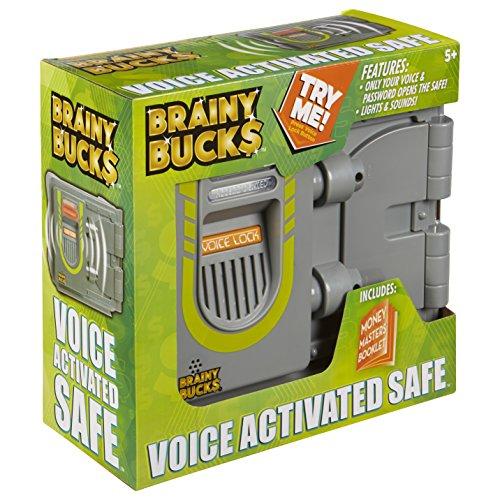 Brainy Bucks Voice Activated Safe Toy