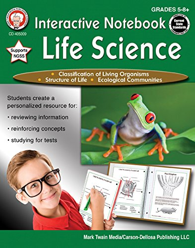 Compare Textbook Prices for Mark Twain - Interactive Notebook: Life Science, Grades 5 - 8 Ntb Edition ISBN 0044222259723 by Cameron, Schyrlet,Craig, Carolyn