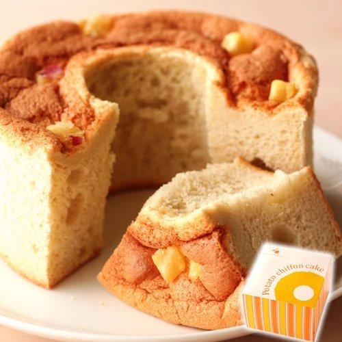 誕生日のプレゼント お祝いギフト プチギフト お芋スイーツ シフォンケーキ (プレーン味)