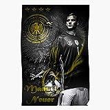 Xyxxcrew Art Wallpaper Illustration Manuel Neuer Home Decor