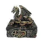 Nemesis Now U3821K8 Secrets of The Machine Box 19,5 cm Plata