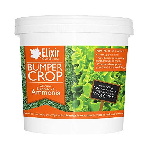 Elixir Gardens Bumper Crop - Sulphate of Ammonia Fertiliser   5kg Tu