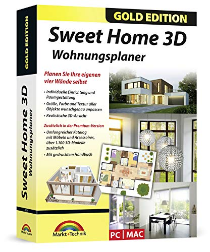 Markt+Technik -  Sweet Home 3D