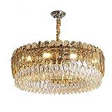 ZJP-dzsw Luz de Techo 30 * 80cm Ronda luz de Oro Moderno Minimalista Dormitorio Living Room lámparas diseñador de iluminación lámpara de Oro