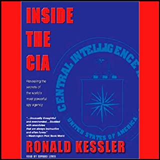 Inside the C.I.A. audiobook cover art