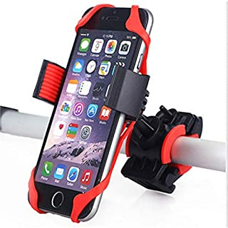 Zealite Silicone bicycle phone holder, creative motorcycle holder, baby carriage holder, anti-drop phone holder, ABS + sil...