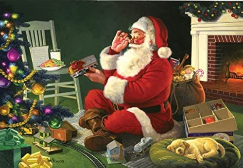 venta caliente SunsOut SunsOut SunsOut - Ted Newsom - Santa's Favorite Delivery - Jigsaw Puzzle - 500 Pc by SunsOut  en stock