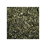 Epidot Trommelsteine 5 Kg. Zierkies Splitter Steingröße ca. 4 - 8 mm Dekosteine, Dekokies, Granulat,...