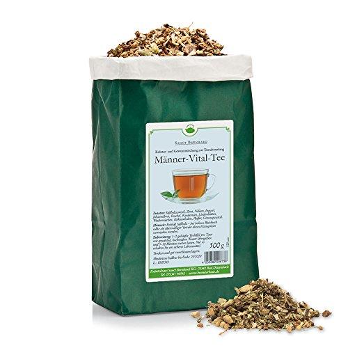 Sanct Bernhard Männer-Vital-Tee mit Süßholz, Zimt, Kardamom, Ingwer, Fenchel, Ginseng 500 g