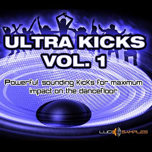 Ultra Kicks Vol. 1 - Power Kick Samples for Club Tracks | Apple Loops/ AIFF | DVD non Box