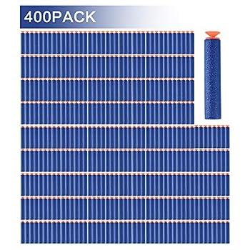 FUCAS Refill Darts 400PCS Universal Suction Darts for Nerf N-Strike Elite