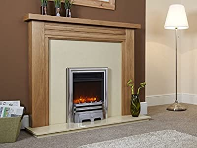 Celsi Electriflame Opulence 16 Inch Electric Fire - Silver
