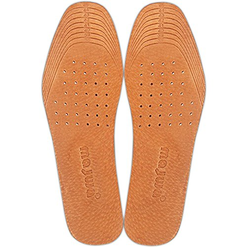 [4 Pairs]Shoe Insoles for Stinky Feet-Foot and Shoe Odor Inserts for Women and Men's Shoes Inserts and Flats for Sweaty Feet and Hyperhidrosis ([4 Pair]US 5.5-10.5)