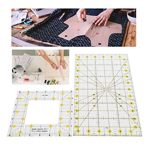 Regla para acolchar Fino Ligero Conveniencia Otro diseño de ropa Plantillas de edredones Dibujo Diseño de muebles de oficina Plato de cultivo Imposición