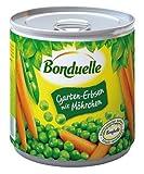 Bonduelle - Guisantes de jardín con zanahorias, 6 unidades (6 botes de 400 g)