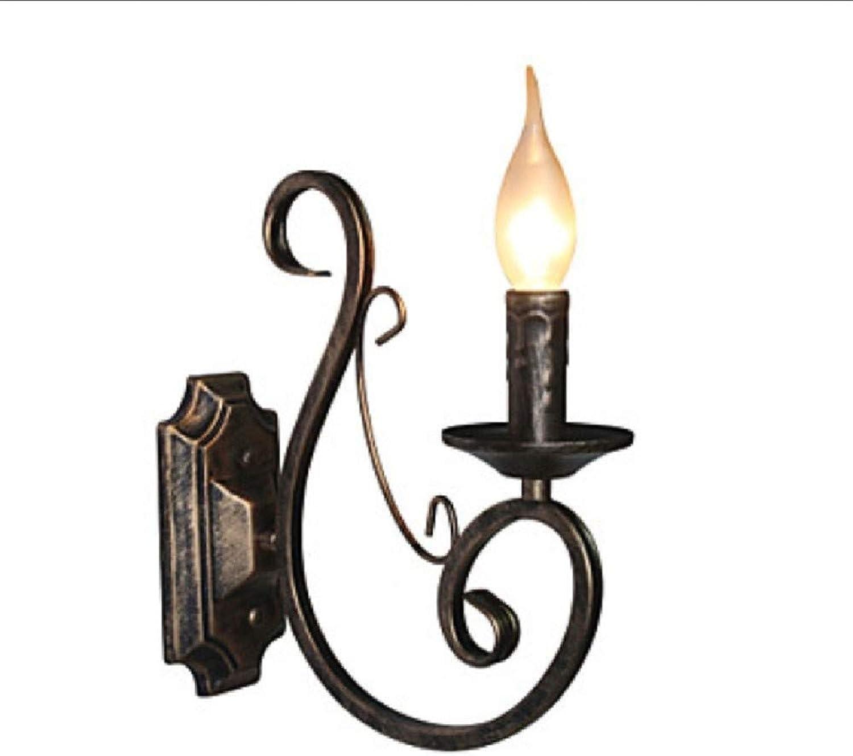 Aussenlampe Wandbeleuchtung Wandlampe Wandleuchte Innen Amerikanische Romantische Retro- Wandlampe Des Kerzenkerzenhalters