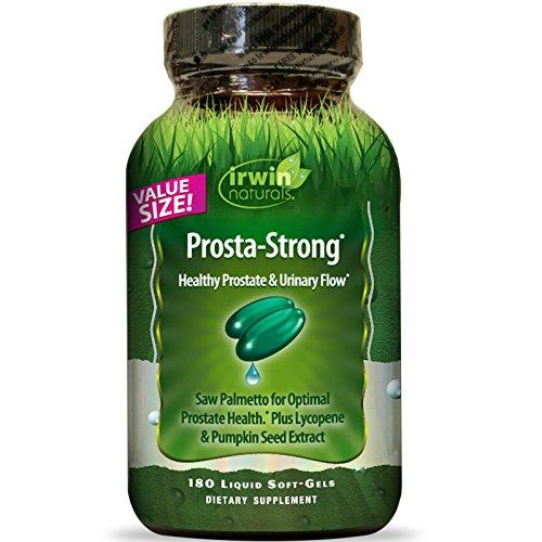 Irwin Naturals, Prosta-Strong, Healthy Prostate & Urinary Flow, 180 Liquid Soft-Gels - 2pc