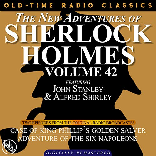 The New Adventures of Sherlock Holmes, Volume 42; Episodes 1 and 2 cover art