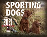 2021 Sporting Dogs Wall Calendar (Single Unit) 16-Month X-Large size 14x22 Monster Calendars