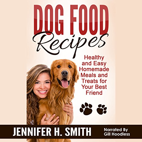 Dog Food Recipes audiobook cover art