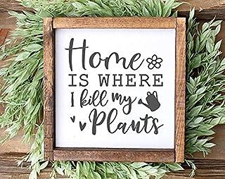 Farmhouse Decor Gardening Home Decor Farmhouse Sign Garden Decor Spring Sign, Wooden Sign Decor Gift Spring Decor Garden Sign