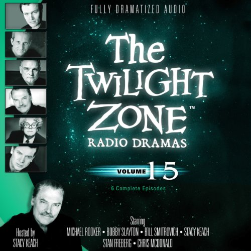 The Twilight Zone Radio Dramas, Volume 15 copertina