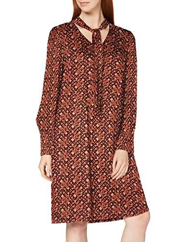 ESPRIT Collection Damen 080EO1E307 Kleid, 233/CAMEL 4, 32