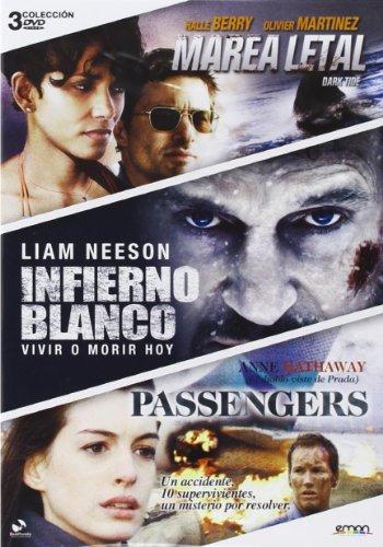 Pack: Infierno Blanco + Passengers + Marea Letal [DVD]