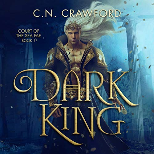 Dark King audiobook cover art