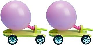 طقم بالون تويفيان 2 مجموعة العاب مرحة للحفلات - بالون باور للسيارة DIY مجموعة تجارب العلوم - لعبة تعليمية