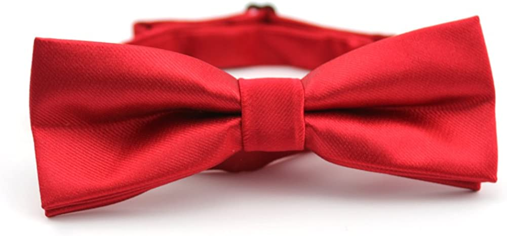 Fashion casual red bow/business dress narrow small tie