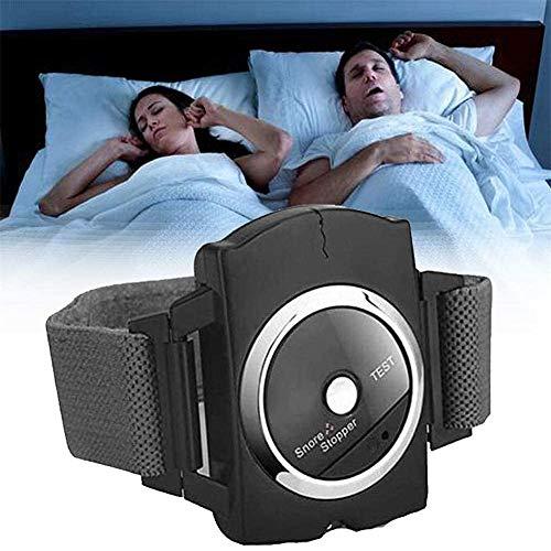 Hzlsy Sleep Connection Infrarot-Schnarchstopper Anti Schnarch Gerät Bio-Sensor Infrarot-Detect-Armband-Uhr