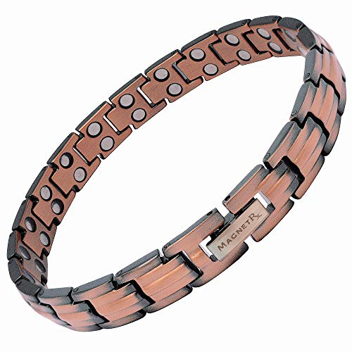 MagnetRX Women's Pure Copper Magnetic Therapy Bracelet Ultra Strength...