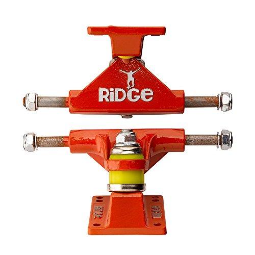 Ridge Skateboard Achsen für Mini Cruiser, Orange, TRUCKS-R22