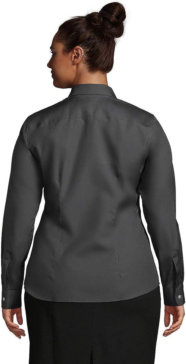 Lands' End Women's Long Sleeve No Iron Broadcloth Shirt