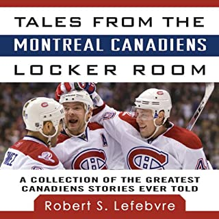 Tales from the Montreal Canadiens Locker Room cover art