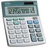 Royal Compact Desktop Solar Calculator (29306S), Purple