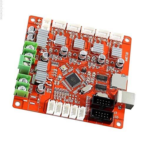 LUOERPI A6 A8 Piezas de Controlador de Impresora 3D Placa Base Placa Base DIY autoensamblaje Impresora de Escritorio Kit Prusa I3 V1.0 RepRap Ramps1.4 (tamaño: Placa Base A6)