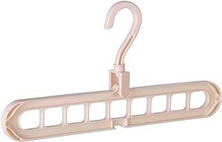 DZSW Hanger Prescence Pender Cintre de Rangement Espace Spave Sauvetage en Plastique 9 Trous Cintre de séchage Cintres de ...