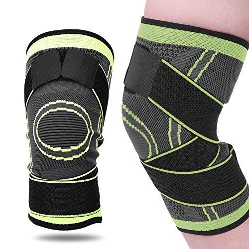 Alomejor Sport Kniebandage Kompressions stabilisierender Kniebandage für Arthritis-Schmerzen Unterstützung(XXL)