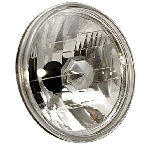 AnzoUSA 841002 7 H4 Universal Round Halogen Headlight