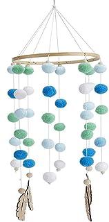 Bébé Carillons Éoliens,Carillons de Vent pour Enfants Suspendu,Jouets Suspendus Mobiles pour Bébé Lit Hochet Jouet, pour M...