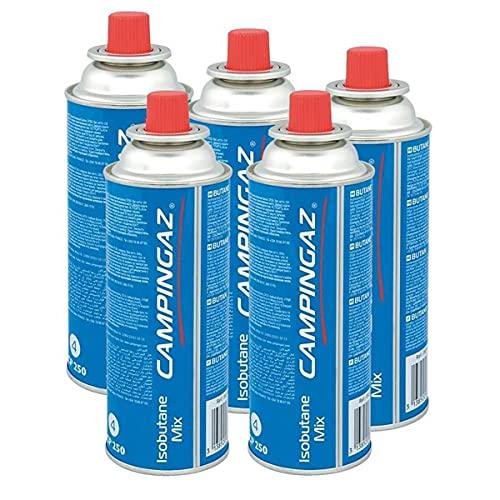 Campingaz Ventil-Gaskartusche CP 250 - Isobutane Mix (5er Pack)