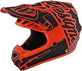 Troy Lee Designs 111008704 - Casco de Moto Se4 Polyacrilite Factory de policarbonato con calota Exterior de Eps