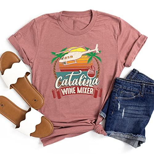 Catalina Wine Mixer Shirt, Step Brothers Catalina Wine Mixer Sunset Graphic Adult T-Shirt, Catalina Wine Mixer Hat, Catalina Wine Mixer Women
