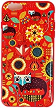iOrigin iPhone 6-iPhone 6s Fox In The Garden Printed Back Cover - Multi Color