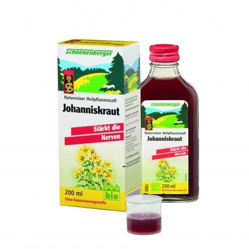 Schoenenberger Johanniskraut naturreiner Heilpflanzensaft, 200 ml Lösung